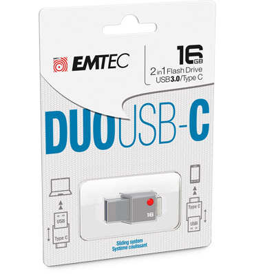 DUO USB C pack 16GB