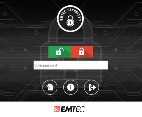 EMTEC Security login