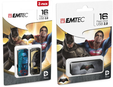 Batman v Superman flashdrives