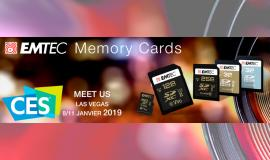 CES 2019 EMTEC and Kodak flash-based novelties !