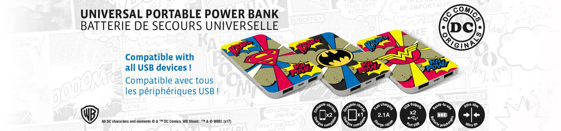 Power banks, backup batteries for your smartphones.