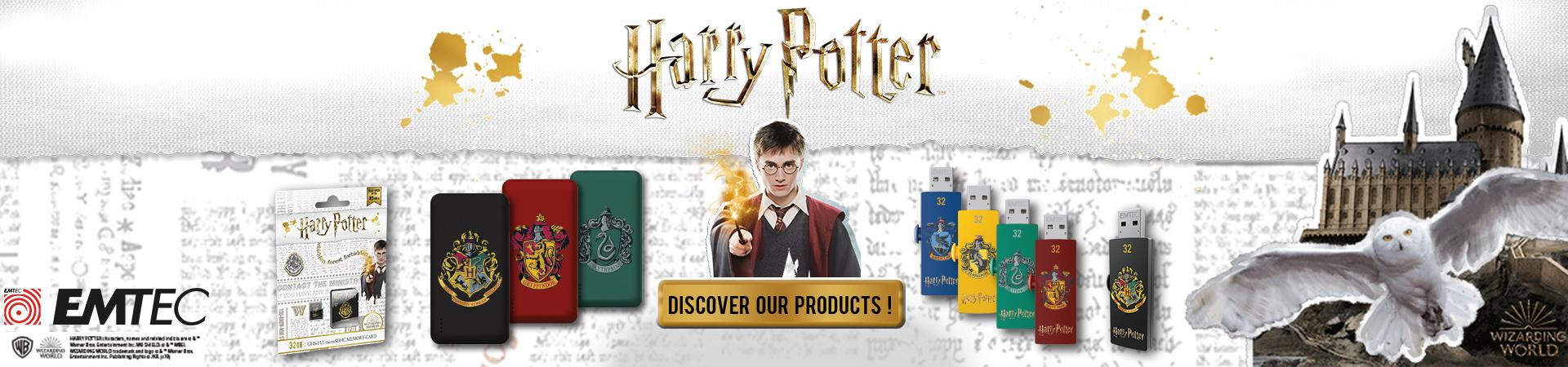 Discover all the magic of Harry Potter at EMTEC