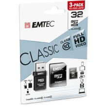 microSD Class10 Classic with USB 2.0 card reader