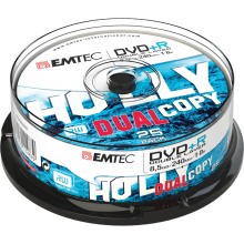 DVD +R DL cakebox 25