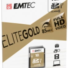 SD UHS-1 ELITE GOLD cardboard 16GB
