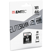 SD Class4 Elite Silver cardboard 1pack 16GB