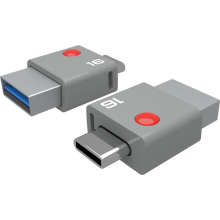 DUO USB-C 16GB 3/4 closed
