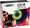 CD-R Vinyl Look green pack 10