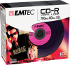 CD-R Vinyl Look pink pack 10
