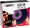 CD-R Vinyl Look purple pack 10