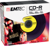 CD-R Vinyl Look yellow pack 10