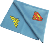 Microfiber cloth with Superman logos