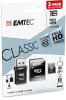 microSD Class10 Classic with USB 2.0 card reader cardboard 16GB