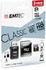 microSD Class10 Classic with USB 2.0 card reader cardboard 8GB