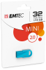 D250 Mini USB 2.0 cardboard blue 1pack 32GB