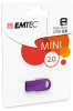 D250 Mini USB 2.0 cardboard purple 1pack 8GB