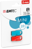 D250 Mini USB 2.0 cardboard 2pack 8GB