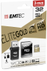 microSD UHS-I U1 Elite Gold 3pack reader 32GB