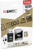microSD UHS-I U1 Elite Gold 3pack reader 128GB