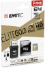 microSD UHS-I U1 Elite Gold 3pack reader 64GB