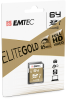 SD UHS-1 ELITE GOLD cardboard 64GB