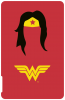 Power Ess 2500mAh U700 SH front Wonderwoman